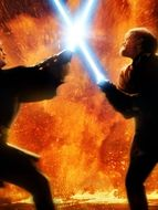 Photo Duel Anakin Obi Wan