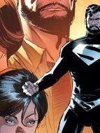 Photo Justice League Superman Black Suit