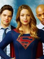 Photo Chyler Leigh, Jeremy Jordan, Melissa Benoist, Mehcad Brooks, Calista Flockhart