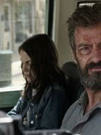 Photo Dafne Keen, Hugh Jackman