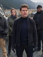 Photo Tom Cruise, Simon Pegg, Ving Rhames, Rebecca Ferguson