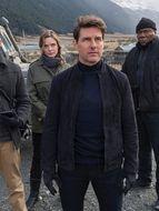 Photo Tom Cruise, Simon Pegg, Ving Rhames, Rebecca Ferguson