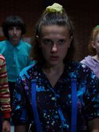 photo, Millie Bobby Brown, Sadie Sink, Noah Schnapp