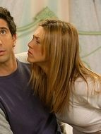 photo, Jennifer Aniston, David Schwimmer