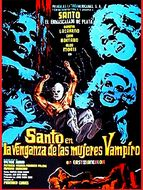 Santo et la vengeance des femmes vampires