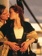 photo, Leonardo DiCaprio, Kate Winslet