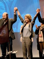 Photo Kad Merad, Astrid Weyman, Astrid Whettnall, François Morel
