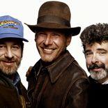 George Lucas Steven Spielberg Harrison Ford