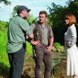 Photo Colin Trevorrow, Chris Pratt, Bryce Dallas Howard