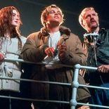 Photo James Cameron, Kate Winslet, Leonardo DiCaprio