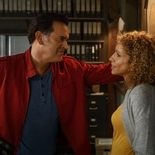 Photo Bruce Campbell, Michelle Hurd