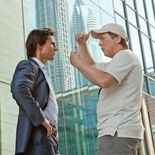 Photo Brad Bird, Tom Cruise