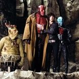 Photo Ron Perlman, Doug Jones, Selma Blair