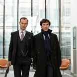 Photo Sherlock Saison 4 Martin Freeman, Benedict Cumberbatch