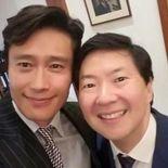 Keon Jeong selfie, Ken Jeong