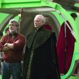 Photo Ian McDiarmid, George Lucas