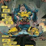 Photo Wolverine découvre ses griffes en os (comics)