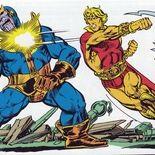 Photo Thanos, Adam Warlock (comics)
