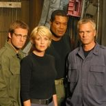 Photo Christopher Judge, Richard Dean Anderson, Amanda Tapping, Michael Shanks