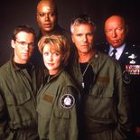 Photo Christopher Judge, Richard Dean Anderson, Michael Shanks, Amdan Tapping