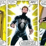 Comics Le costume noir de Spider-Man