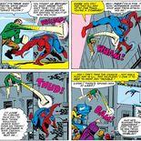 Comics L'Homme sable et Spider-Man