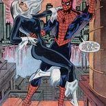 Comics La Chatte noire et Spider-Man
