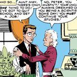 Comics Peter Parker et Tante May