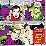 Comics Norman Osborn se démasque