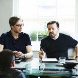 Photo Stephen Merchant, Ricky Gervais