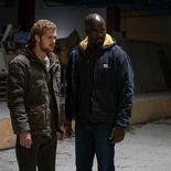 Photo Finn Jones, Mike Colter, The Defenders saison 1