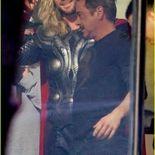 Photo Chris Hemsworth, Robert Downey Jr.
