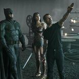 Photo Gal Gadot, Zack Snyder, Ben Affleck