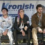 Photo Josh Hutcherson, Derek Wilson, Eliza Coupe
