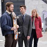 Photo Chris Pratt, Amy Poehler, Adam Scott