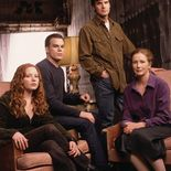 Photo Lauren Ambrose, Michael C. Hall, Frances Conroy, Six Feet Under
