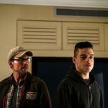 Photo Rami Malek, Christian Slater, Mr. Robot
