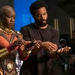 Photo Ryan Coogler, Danai Gurira