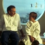 Photo Steven Spielberg, Haley Joel Osment