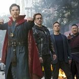 Photo Benedict Cumberbatch, Robert Downey Jr., Mark Ruffalo, Benedict Wong