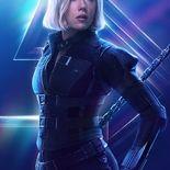Photo Scarlett Johansson, Black Widow