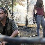Photo Andrew Lincoln, Danai Gurira, The Walking Dead