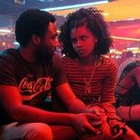 Photo Zazie Beetz, Donald Glover