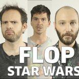 Vidéo Ecran Large Flop Star Wars