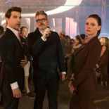 photo, Christopher McQuarrie, Tom Cruise, Rebecca Ferguson