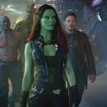 photo, Zoe Saldana, Chris Pratt, Dave Bautista