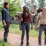 photo, Danai Gurira, Andrew Lincoln, Norman Reedus