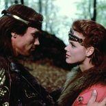 photo, Brigitte Nielsen, Arnold Schwarzenegger