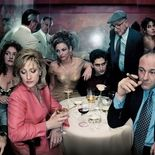 photo, Edie Falco, James Gandolfini
