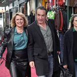 Photo Valérie Vogt, Jean Dujardin, Camille Cottin